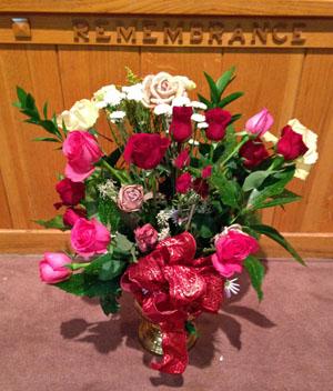 Altar Flowers – February 9