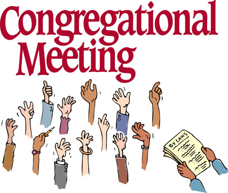 Congregational Meeting Postponed